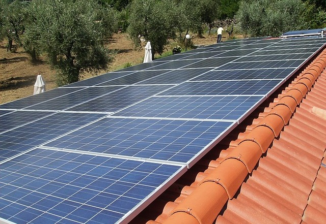 Photovoltaic System Panels Solar Energy
